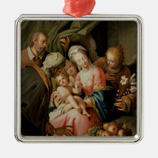 Holy Family with St Anne Christmas Tree Ornament