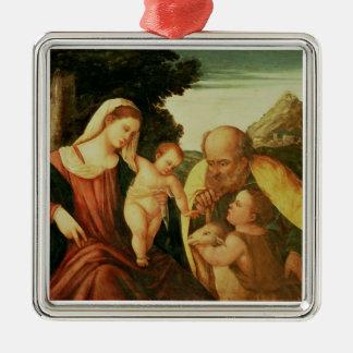 Holy Family with St. John Christmas Tree Ornaments