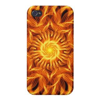 Holy Fire Mandala iPhone 4/4S Covers