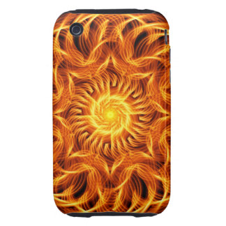 Holy Fire Mandala Tough iPhone 3 Cases