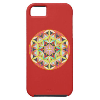 Holy geometric flower of life iPhone case