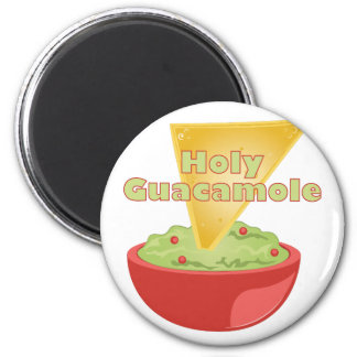 Holy Guacamole 6 Cm Round Magnet