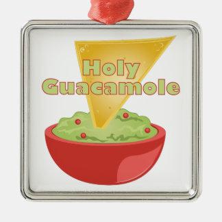 Holy Guacamole Metal Ornament