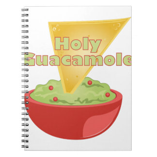 Holy Guacamole Spiral Notebook
