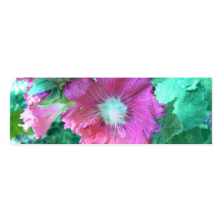 Holy Hollyhocks! Bookmark Pack Of Skinny Business Cards
