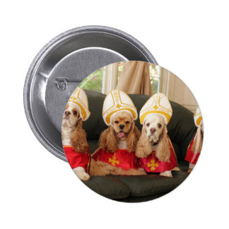 Holy Hound Conclave 6 Cm Round Badge