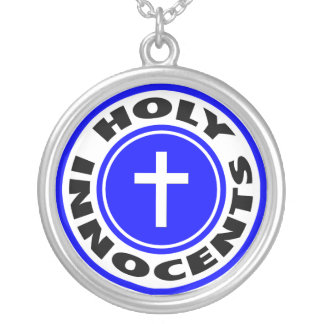 Holy Innocents Silver Plated Necklace