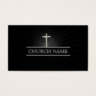 Holy Lights Cross Church Business Card