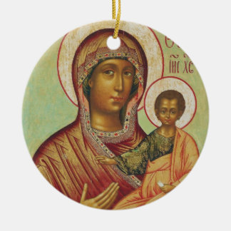 Holy Mary Mother of God Ornament
