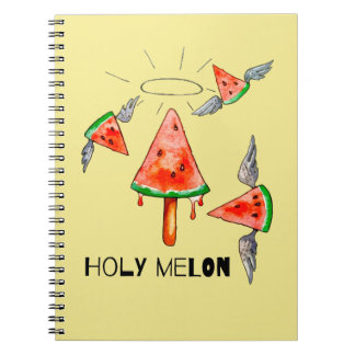 Holy melon notebook