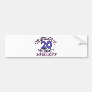 Holy Moly 20 already? Bumper Sticker
