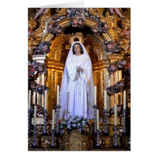 Holy Mother Mary Salamanca Cards