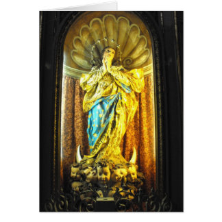 Holy Mother Mary, St John's co cathedral Greeting Cards