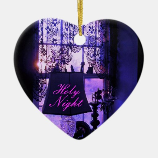 Holy  Night Christmas Ornament