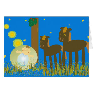 Holy Night ~Merry Christmas~ Greeting Card