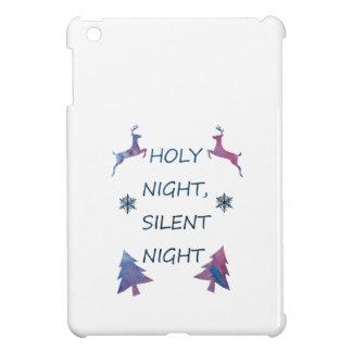 Holy Night, Silent Night iPad Mini Cover
