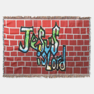 Holy phrase in the Christian Bible Throw Blanket