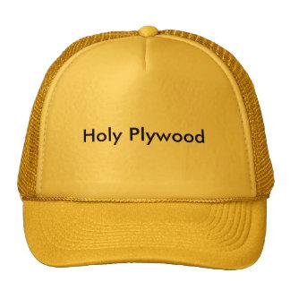 Holy Plywood Cap