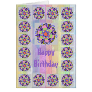 Holy Purple = Dutch IRIS Flower Note Card