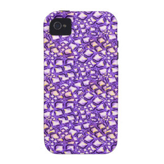 HOLY Purple Healing Energy Pattern Graphic GIFTS iPhone 4/4S Covers