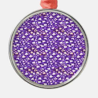 HOLY Purple Healing Energy Pattern Graphic GIFTS Ornaments