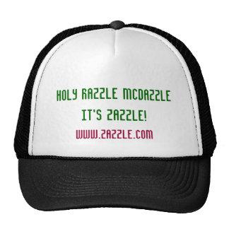 Holy Razzle McDazzle it's Zazzle! Cap
