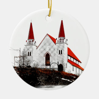 Holy Redeemer Anglican Church Round Ceramic Decoration