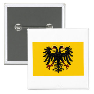 Holy Roman Empire Flag Pinback Buttons