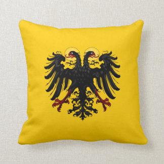 Holy Roman Empire Flag Throw Pillow