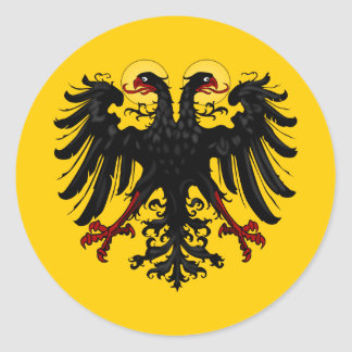 Holy Roman Empire Imperial Banner Round Sticker