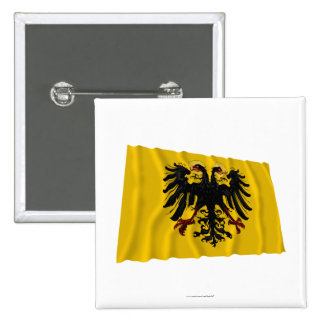 Holy Roman Empire Waving Flag Pin