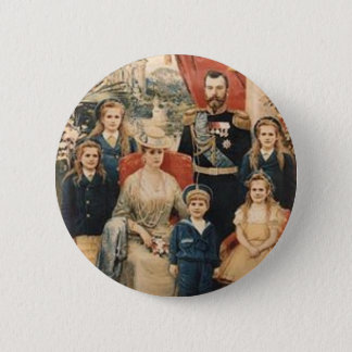 Holy Royal Martyrs 6 Cm Round Badge