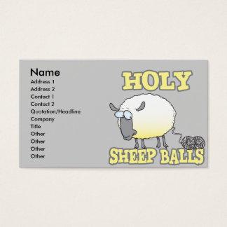 holy sheep balls funny unraveling yarn sheep