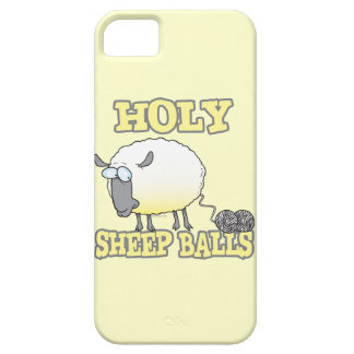 holy sheep balls funny unraveling yarn sheep iPhone 5 covers