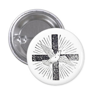 "Holy Spirit 1""button 3 Cm Round Badge"