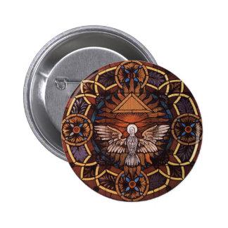 Holy Spirit 6 Cm Round Badge