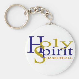 Holy Spirit Basic Round Button Key Ring