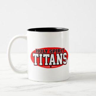 Holy Spirit Catholic High School; Titans Two-Tone Mug