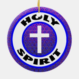 Holy Spirit Ceramic Ornament