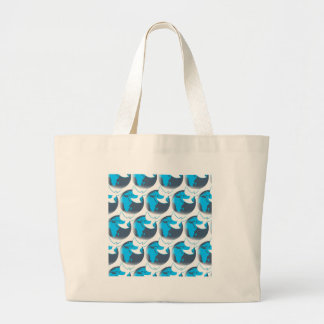 Holy Spirit dove abstract earth blessing Large Tote Bag