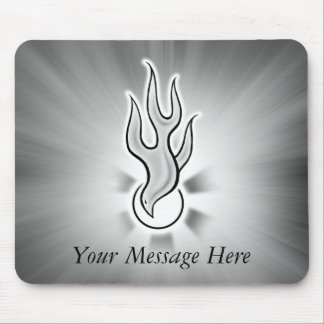 Holy Spirit Dove Flame Design Mouse Pad