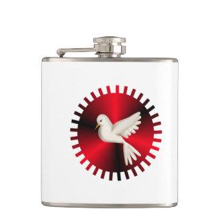 Holy Spirit Dove Hip Flask