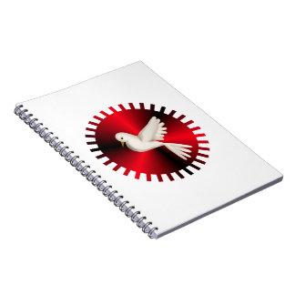 Holy Spirit Dove Notebook