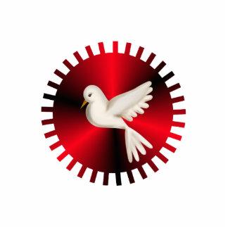 Holy Spirit Dove Standing Photo Sculpture