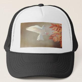 Holy spirit heavenly dove trucker hat