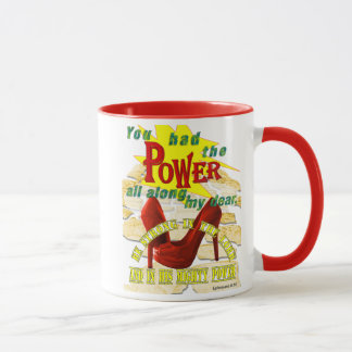 Holy Spirit Power Ruby Slippers Sytling Mug