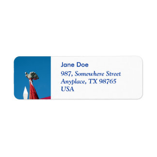 Holy Spirit Return Address Label