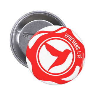 Holy Spirit Seal 6 Cm Round Badge