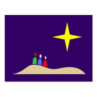 Holy three kings the three Wise Men Postcard