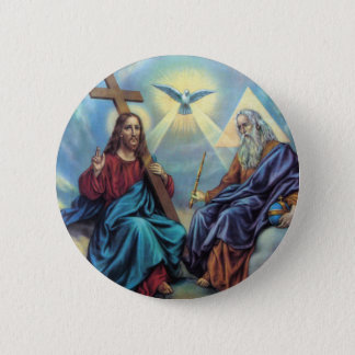 Holy Trinity 6 Cm Round Badge